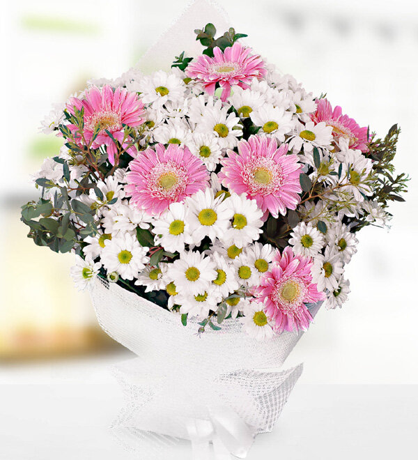 Daisy and Gerbera Bouquet