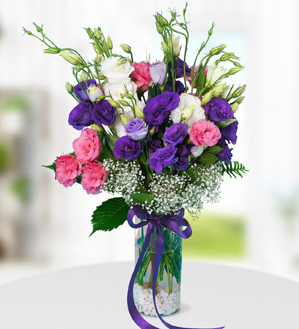 Colorful Lisianthus Flowers